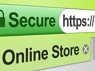 Secure Online Store - Green